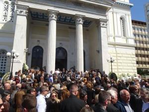 Στέλιος Σκλαβενίτης: Πλήθος κόσμου στην κηδεία του