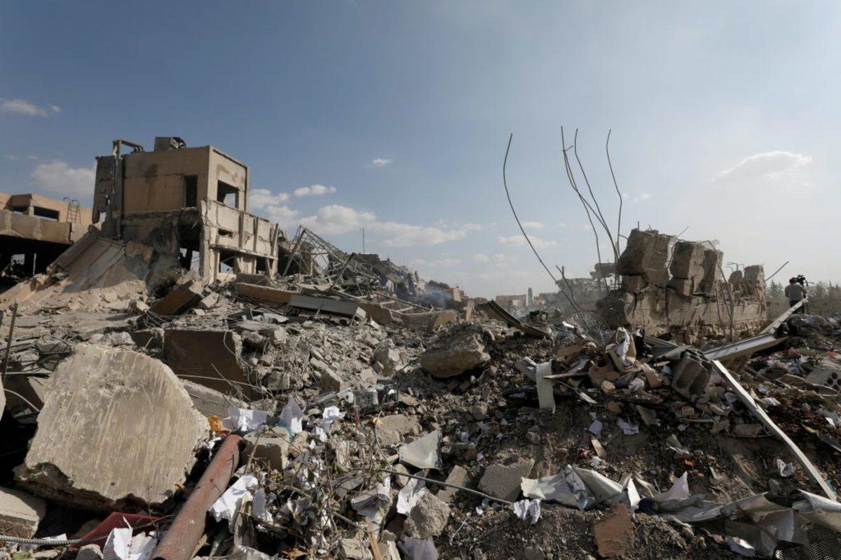 Επίθεση στην Συρία - Οι πρώτες εικόνες από τους βομβαρδισμούς!