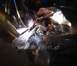 Φθιώτιδα: Φοβερό τροχαίο με αγριογούρουνο – Το αυτοκίνητο μετατράπηκε σε άμορφη μάζα σιδερικών [pics]