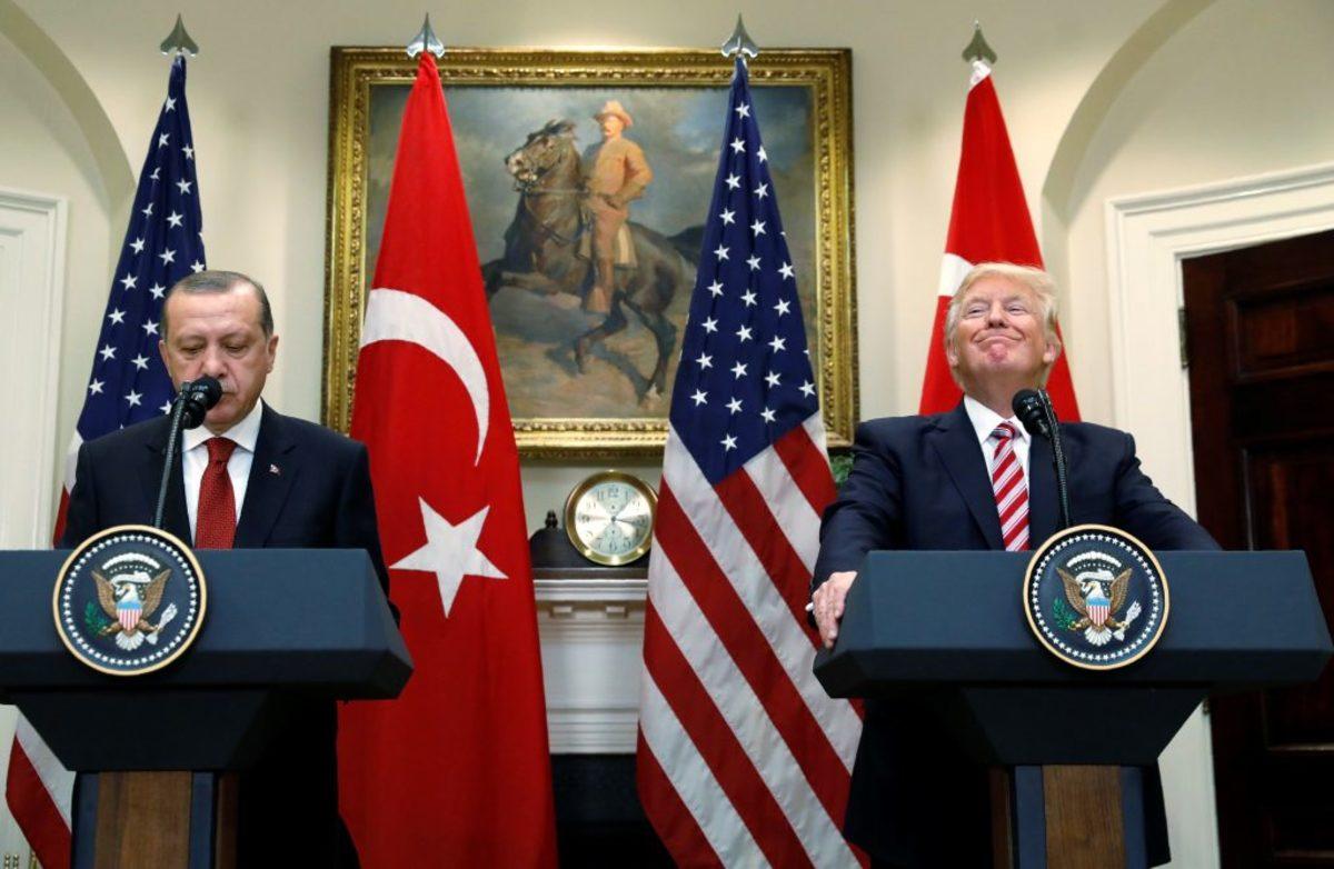 Ερντογάν Τουρκία ΗΠΑ
