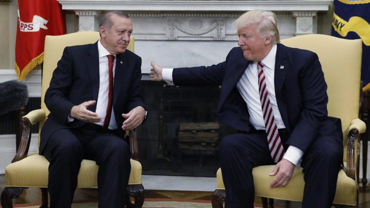 Τραμπ Ερντογάν Τουρκία πάστορας
