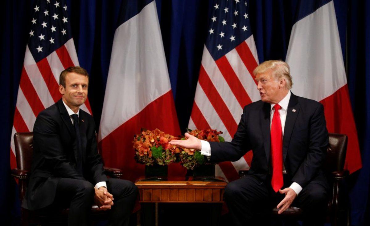 Τραμπ διαψεύδει… εαυτόν και Μακρον: Θέλω να φύγουν οι ΗΠΑ από τη Συρία