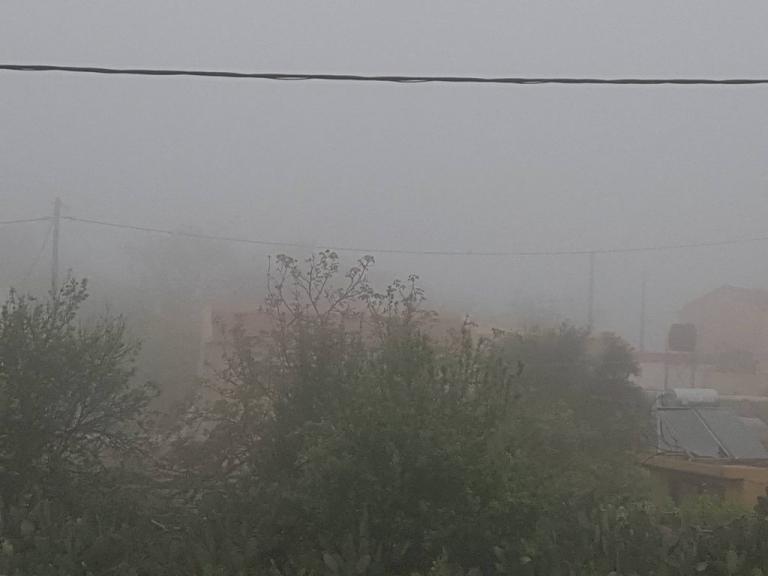 Ορατότης μηδέν! Η ομίχλη «έπνιξε» την Κρήτη – Προβλήματα στις πτήσεις [pics]