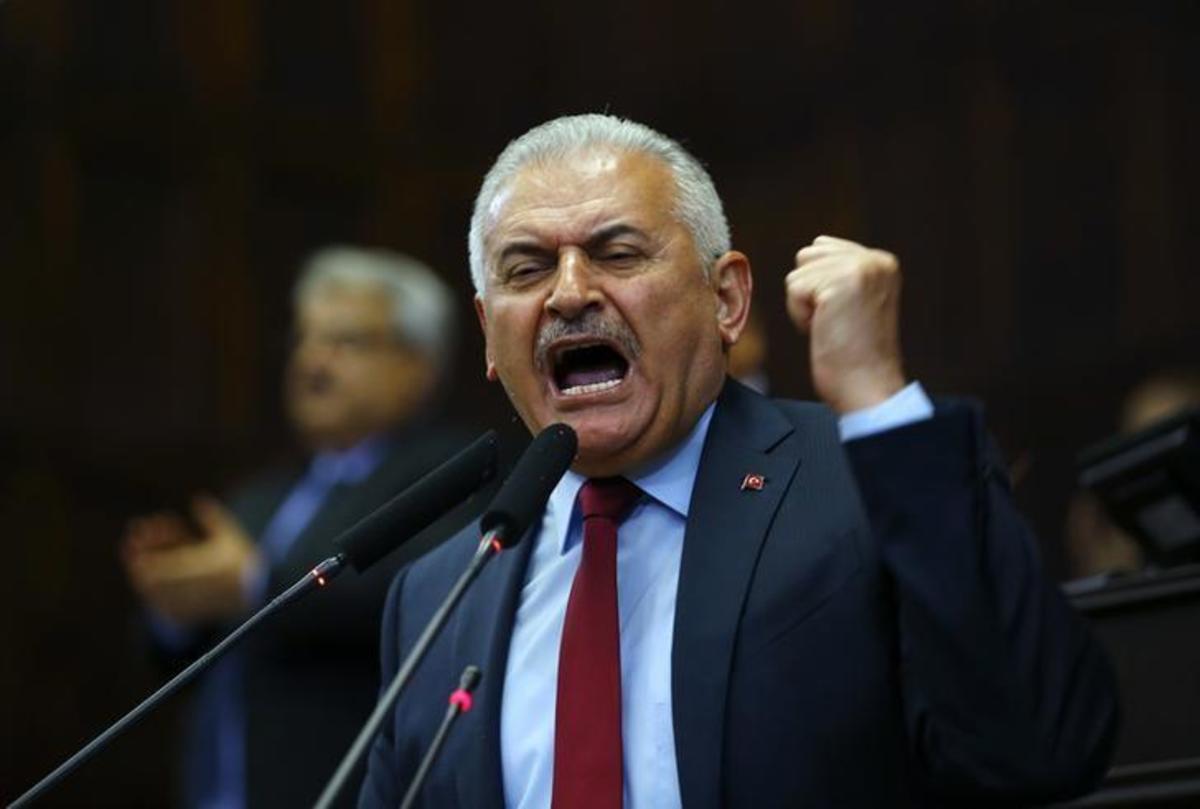 """Συρία: """"Επίθεση"""" Γιλντιρίμ στην Δύση για τους βομβαρδισμούς: """"Τώρα το θυμηθήκατε;"""""""