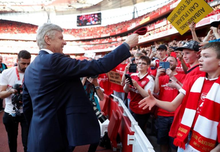 "Premier League: Αποθέωση στο ""αντίο"" του Βενγκέρ! Το σήκωσε η Σίτι [pics, vids]"