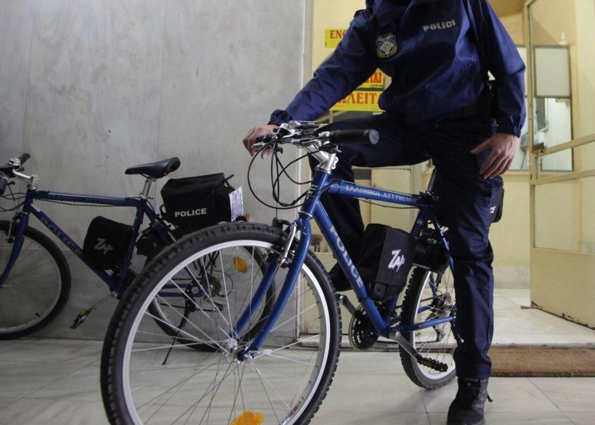 Αστυνομικές περιπολίες με ποδήλατα ξεκινούν στο Ηράκλειο