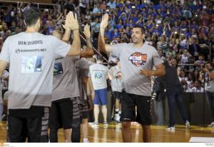 Final Four: Με μπλουζάκια του Γκάλη στο Βελιγράδι [pic]