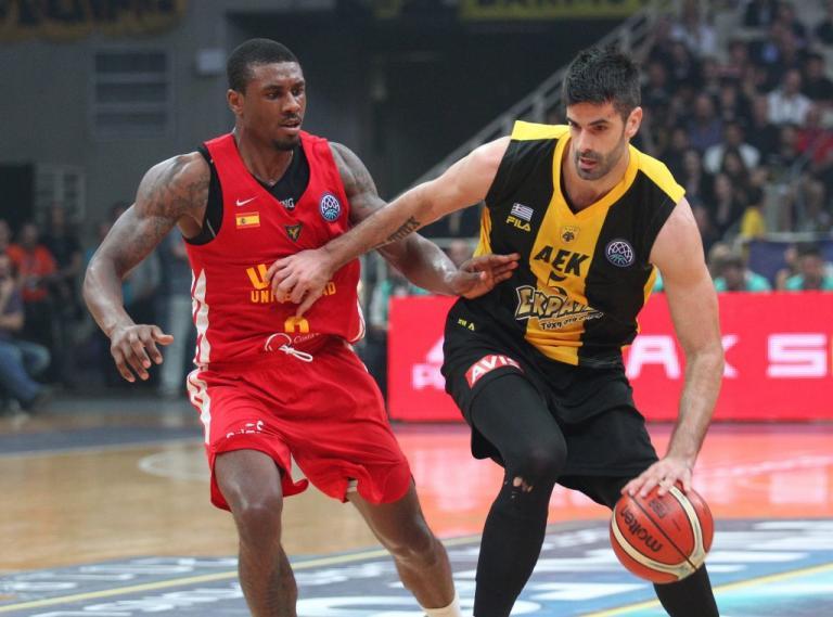 Basketball Champions League: ΑΕΚ – Μούρθια 77-75 – Στον τελικό η Ένωση