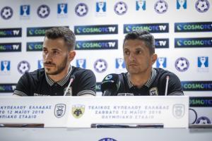 """ΑΕΚ – ΠΑΟΚ, Λουτσέσκου: """"Μας έκλεψαν το πρωτάθλημα, πάμε για το Κύπελλο"""""""