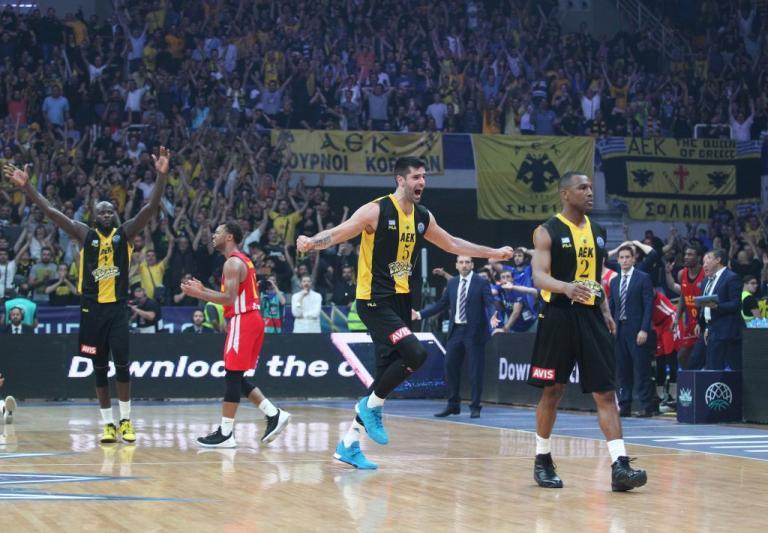 """Ραντεβού με την… ιστορία η ΑΕΚ! Ο """"θρόνος"""" του Basketball Champions League την περιμένει"""