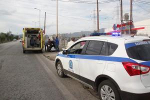 Λάρισα: Νεκρή η γυναίκα που παρασύρθηκε από νταλίκα