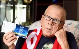 "Champions League: Συγκινεί ο 75χρονος οπαδός της Λίβερπουλ! ""Είμαι συντετριμμένος"" [vid]"