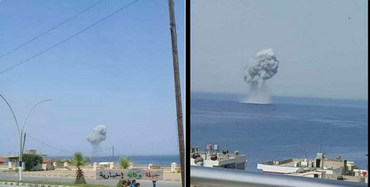 πτώση ρωσικού μαχητικού Συρία