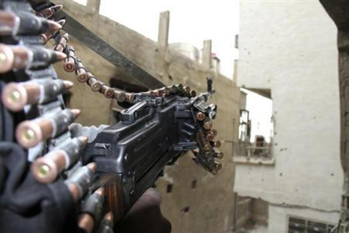 Συρία Αμερικανοί