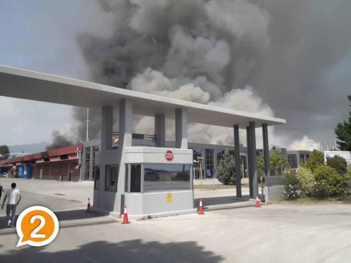 Ξάνθη: Ανοίγει άμεσα το εργοστάσιο μετά τη μεγάλη φωτιά – Η εργοδοσία στο πλευρό των υπαλλήλων – Τα έκτακτα μέτρα!