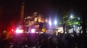 Χιλιάδες μουσουλμάνοι προσευχήθηκαν στην Αγιά Σοφιά!