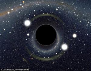 Η πιο αχόρταγη μαύρη τρύπα στο σύμπαν! «Καταπίνει» έναν Ήλιο κάθε δύο μέρες [pic]