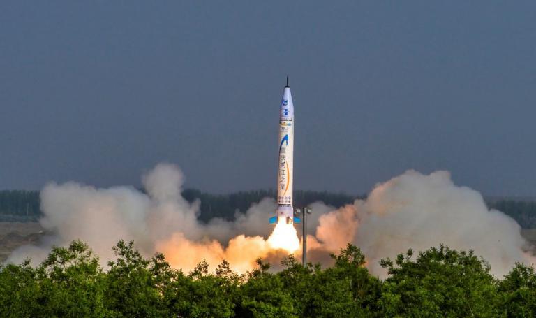 Στο διάστημα ο πρώτος ιδιωτικός πύραυλος της Κίνας