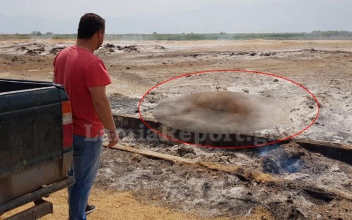 Λαμία: Ζευγάρι κινδύνευσε να καεί για να σώσει την αγελάδα του