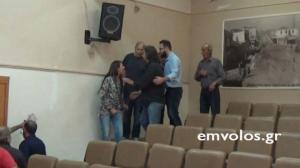 Ημαθία: Επεισοδιακή η ομιλία βουλευτή του ΚΚΕ [vid]