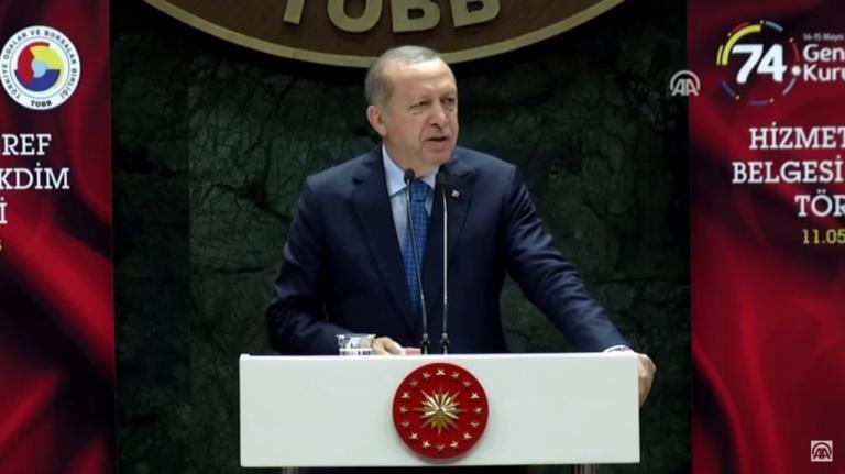 """Απίστευτη επίθεση Ερντογάν: """"Οι οίκοι αξιολόγησης αναβάθμισαν την «τελειωμένη» Ελλάδα"""" [vid]"""