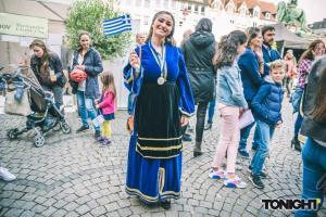 """Ξανά στα… γαλανόλευκα το Ντίσελντορφ! """"Πλημμύρισε"""" με γεύσεις και νότες από Ελλάδα [vids, pics]"""
