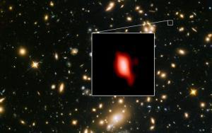 Ανακαλύφθηκε γαλαξίας με το πιο μακρινό οξυγόνο στο σύμπαν! [pic]