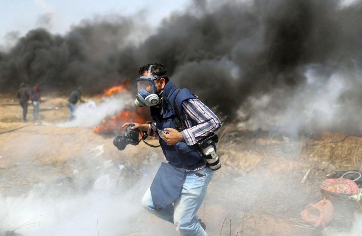 Χάος και πάλι στη Γάζα: Διαδηλώσεις, φωτιές και πυροβολισμοί [pics]