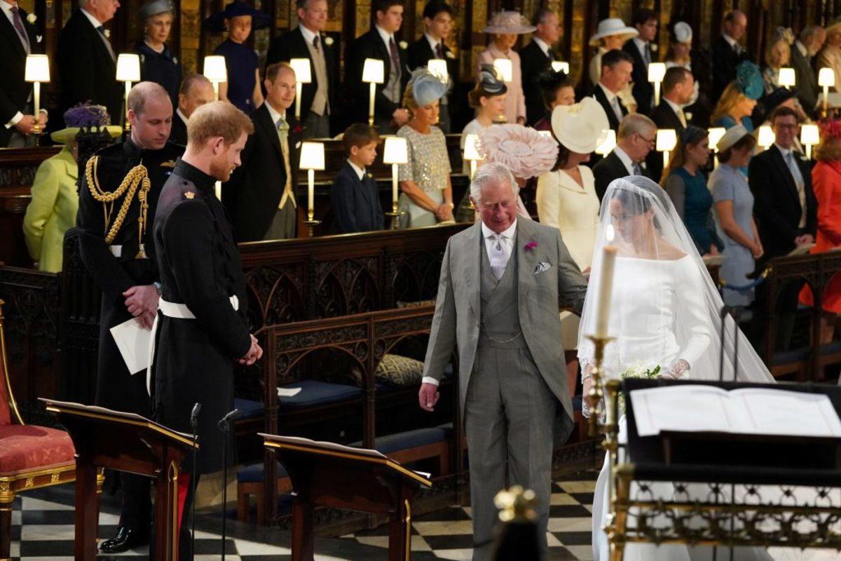 πρίγκιπας Χάρι πρίγκιπας Κάρολος Μέγκαν Μαρκλ