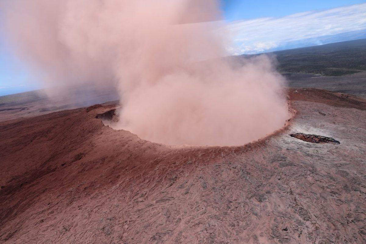 Χαβάη ηφαίστειο σεισμοί