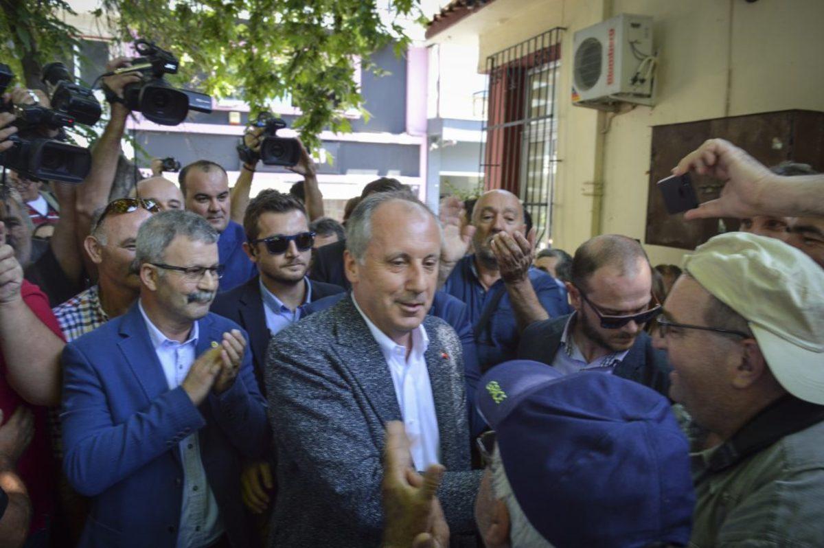 """Τούρκικη προπαγάνδα και στην επίσκεψη Ιντζέ - """"Οι Έλληνες δεν άφησαν βουλευτές και δημοσιογράφους να περάσουν τα σύνορα"""""""