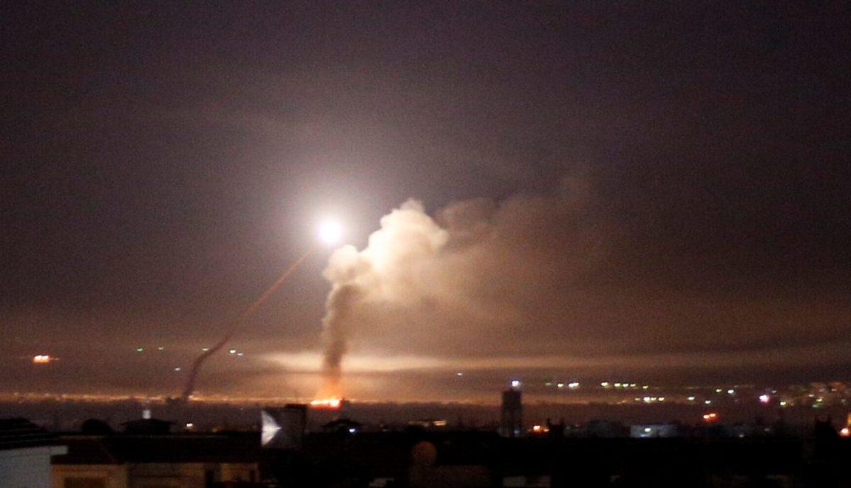 Συρία Ισραήλ Ιραν επίθεση