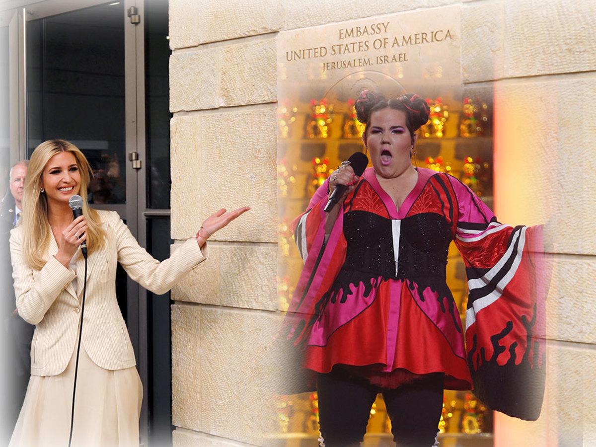 eurovision Ιερουσαλήμ πρεσβεία