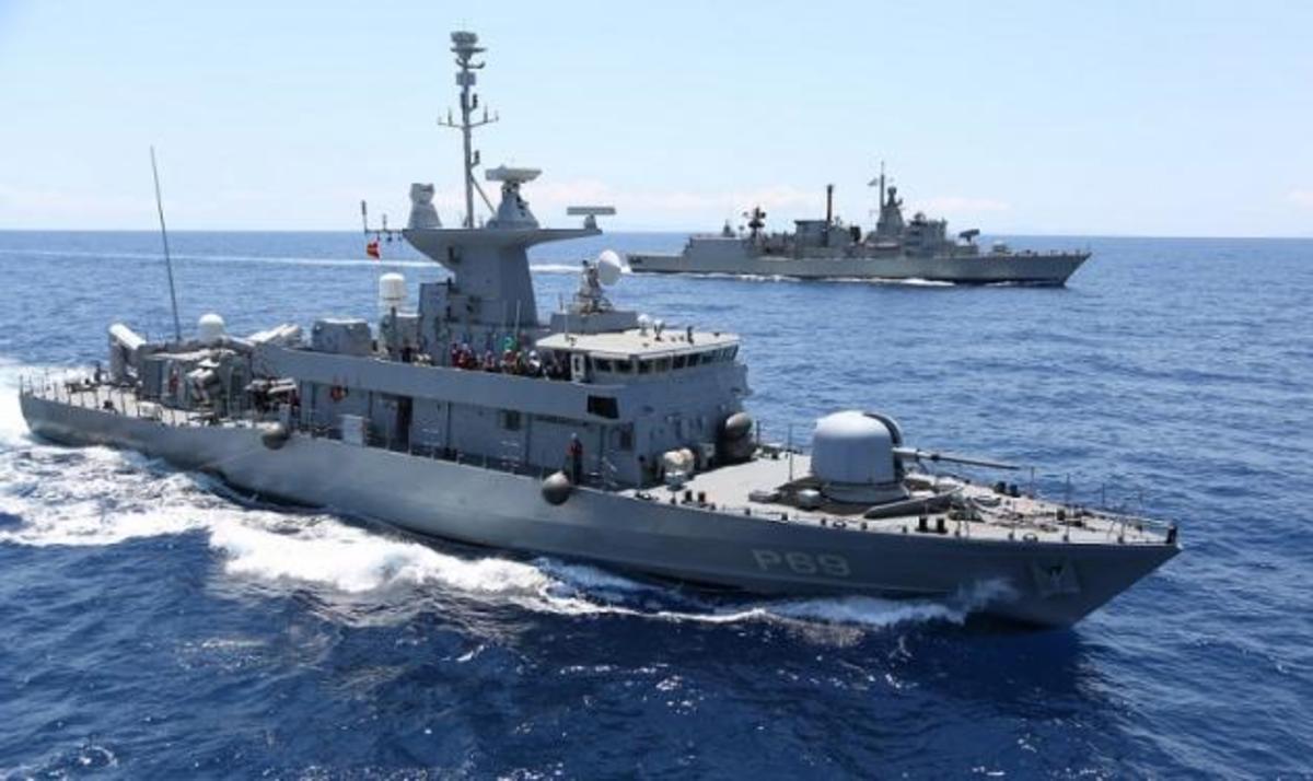 Επεισόδιο στο Αιγαίο – Τουρκικό πλοίο έπεσε πάνω σε ελληνική ...