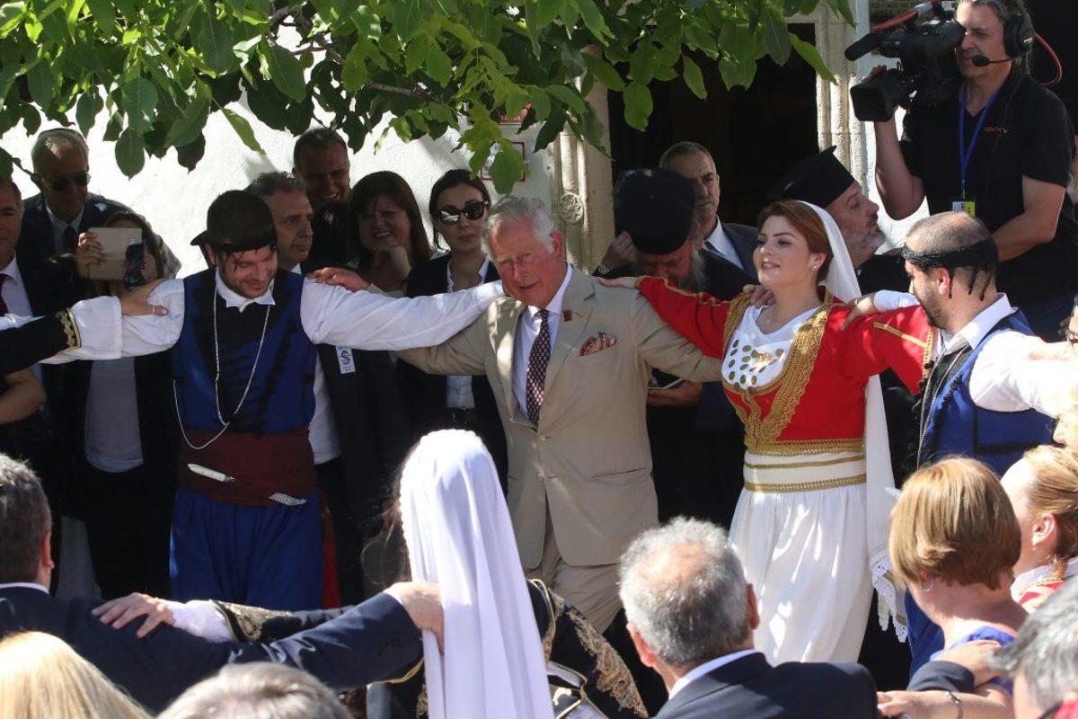 Πρίγκιπας Κάρολος: Το αίτημα των Βρετανών αστυνομικών που… απέρριψαν οι Κρητικοί