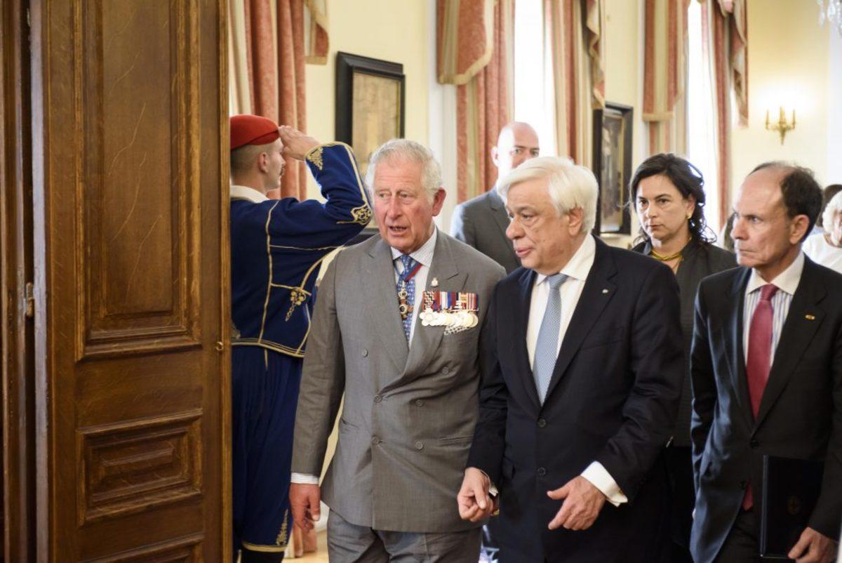 Θέμα γλυπτών του Παρθενώνα θα θέσει ο Πρόεδρος της Δημοκρατίας στον πρίγκιπα Κάρολο