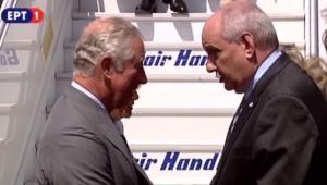 """Επίσκεψη Καρόλου στην Ελλάδα: """"Θανατηφόρα"""" ατάκα στον Τέρενς Κουίκ για την Μάντεστερ Γιουνάιτεντ"""