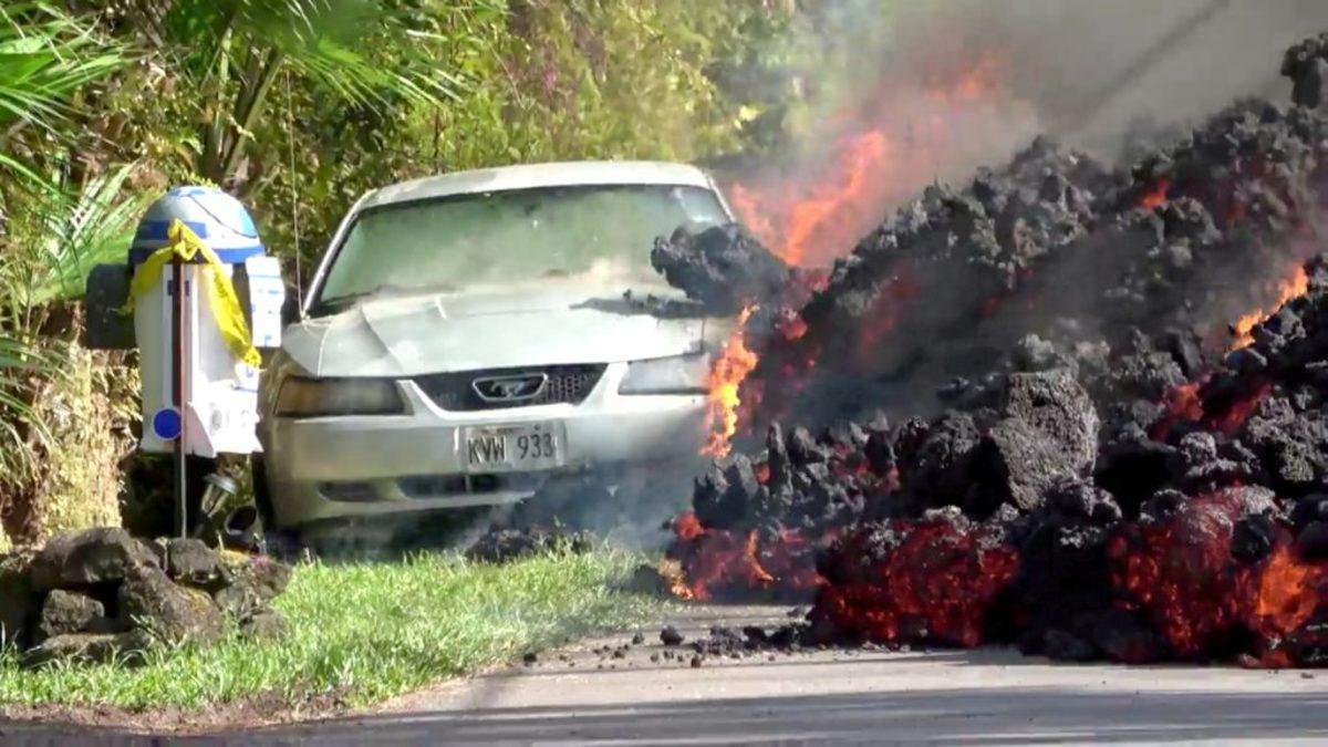 Χαβάη: Η λάβα καταπίνει τα πάντα στο πέρασμά της!