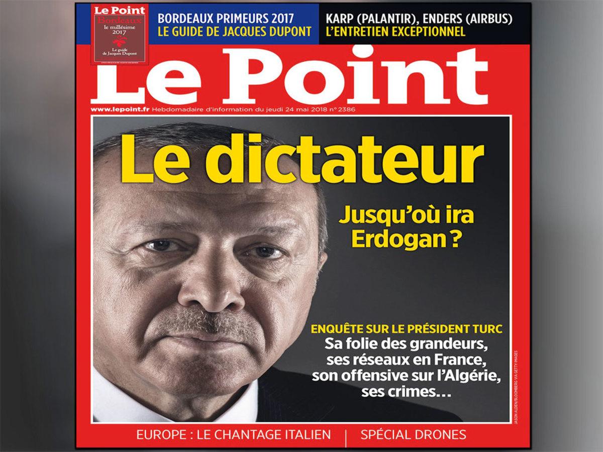 Ερντογάν Le Point