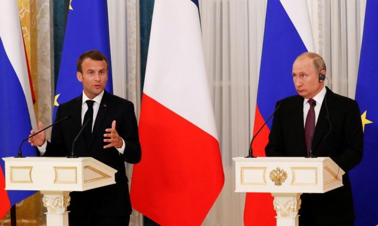 Πούτιν και Μακρόν συζήτησαν για την κατάσταση στο Ναγκόρνο Καραμπάχ