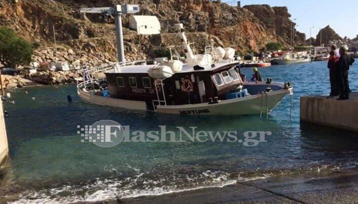 Κρήτη: Το πλοίο έπαθε ρήγμα εν πλω!