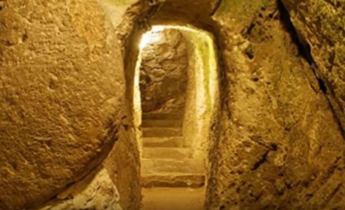 Ο άνδρας που έκανε ανακαίνιση σπίτι του και βρήκε την υπόγεια πόλη της Καππαδοκίας