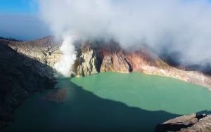 Το μοναδικό μπλε ηφαίστειο του κόσμου