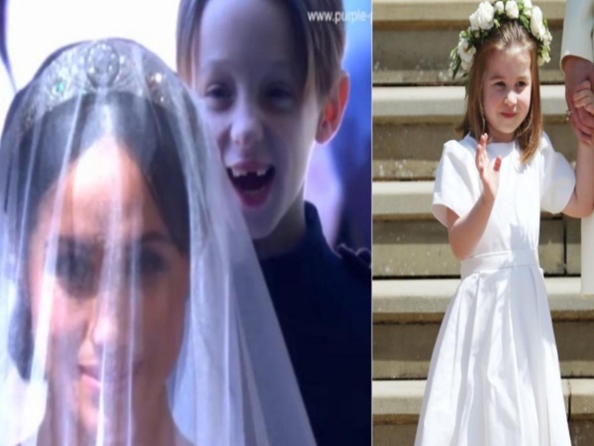 Πριγκιπικός γάμος: Το παρανυφάκι που έκλεψε την παράσταση… μετά τη Σάρλοτ! [pics, vid]