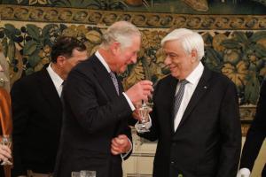 Παυλόπουλος σε Κάρολο: Ευελπιστούμε στην επιστροφή των Γλυπτών του Παρθενώνα