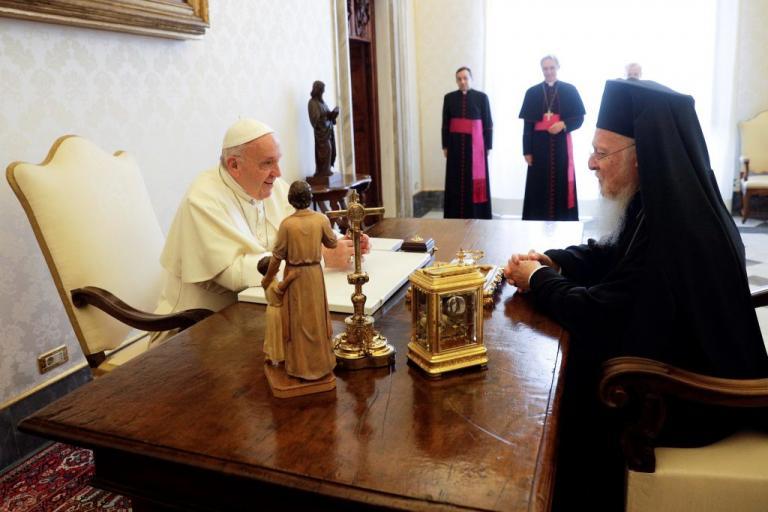 Οικουμενικός Πατριάρχης Βαρθολομαίος: Κινδυνεύουμε να φτάσουμε σε παγκόσμιο πυρηνικό πόλεμο