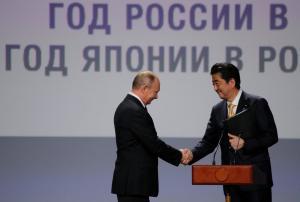 """Συνάντηση Πούτιν με τον Σίνζο Άμπε – Βάζουν """"ρότα"""" για ειρηνευτική συμφωνία… 70 χρόνια μετά"""