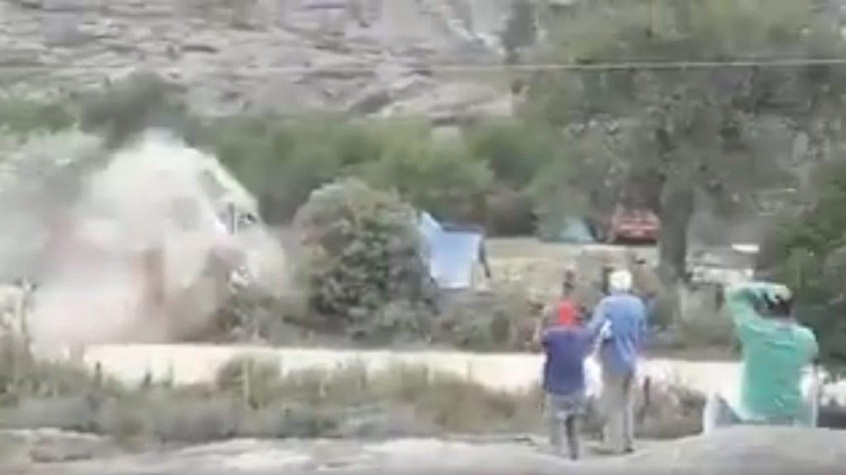 Ανατριχιαστικό ατύχημα στο Ράλι Αργεντινής [vids]