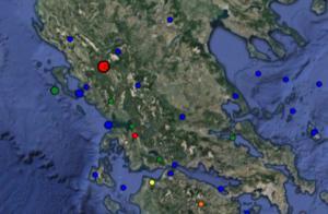 Σεισμός τώρα στα Γιάννενα – LIVE τι καταγράφουν οι σεισμογράφοι