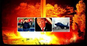 """Τραμπ: Και """"χυλόπιτα"""" και απειλές! """"Έτοιμοι αν ο Κιμ Γιονγκ Ουν κάνει κάποια ανοησία""""! [vid]"""